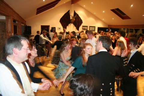 Ceilidh in our loch view function room - The Galley of Lorne Inn