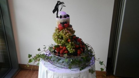 Wedding Catering and Venue Equipment Hire - Cheese Wedding Cakes - Scotland-Image 22841