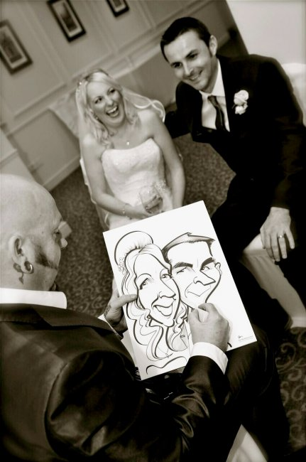 Bride & Groom - The Wedding Artist