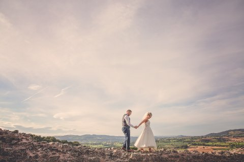 Montgomery Castle, with thanks to Kat and Jamie and Rocksalt Photography - Montgomery Weddings