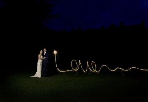 Getting creative with sparklers! - Amie Parsons Photography