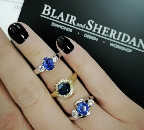 Unique Engagement Rings - Blair and Sheridan Bespoke Diamond Jewellers