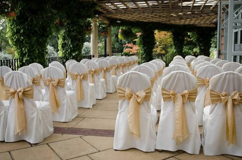 Ceremony on the terrace at the Sun Pavilion, Harrogate - The Sun Pavilion, Harrogate