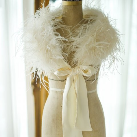 bridal capes and shrugs - Tiaras & Teirs