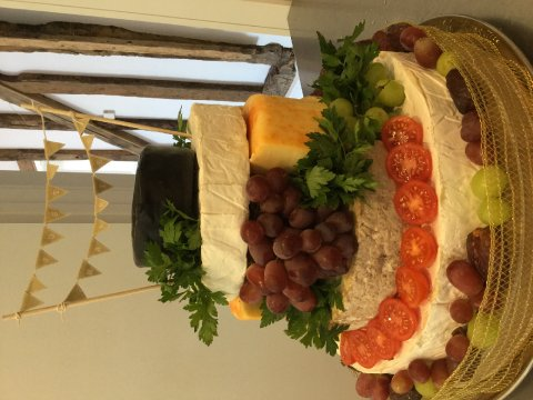 A small cheese tower - Prestige Bars and Catering Ltd