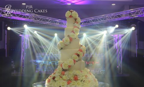 Luxury Wedding Cakes - PJR Wedding Cakes