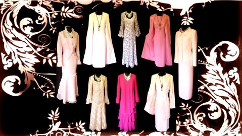 Wedding Outfits in Pink