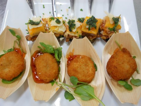 Canapes - Thistle Catering Services