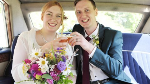 Bright and cheery summer wedding - The Flower Farm