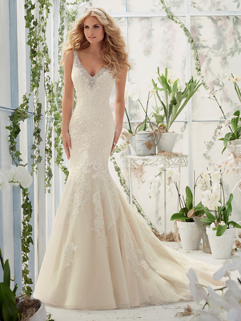 Mori Lee (Bridal) - Elderberry Brides