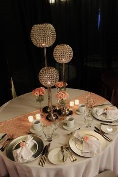 Globe Table Decorations - The Event Hire Company