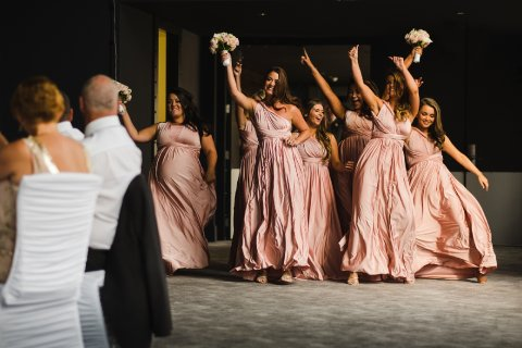 Bridesmaids dancing - Fabulous Together