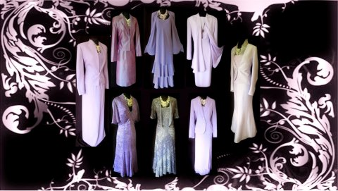 Wedding Outfits in Purple & Lilac