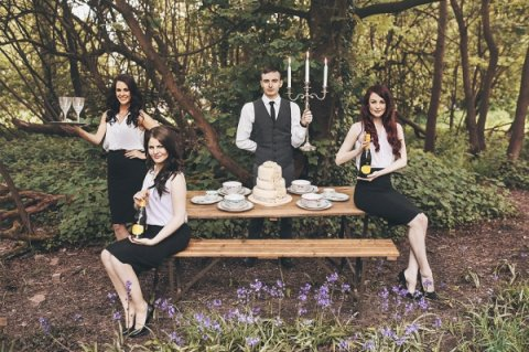 singing waiters - Bands For Hire Ltd