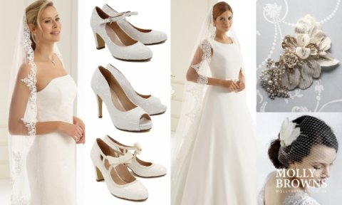 Wedding Veils, Shoes & Jewellery
