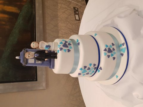 Dr who Wedding cake - Speciality-Cakes