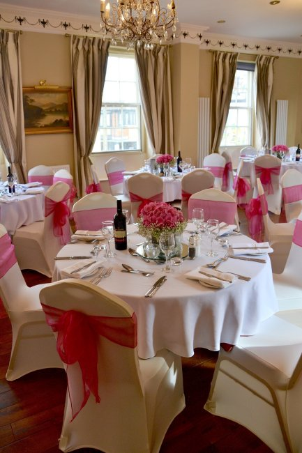 Christina Room Wedding Reception at the Greyhound lLutterworth - The Greyhound Coaching Inn and Hotel
