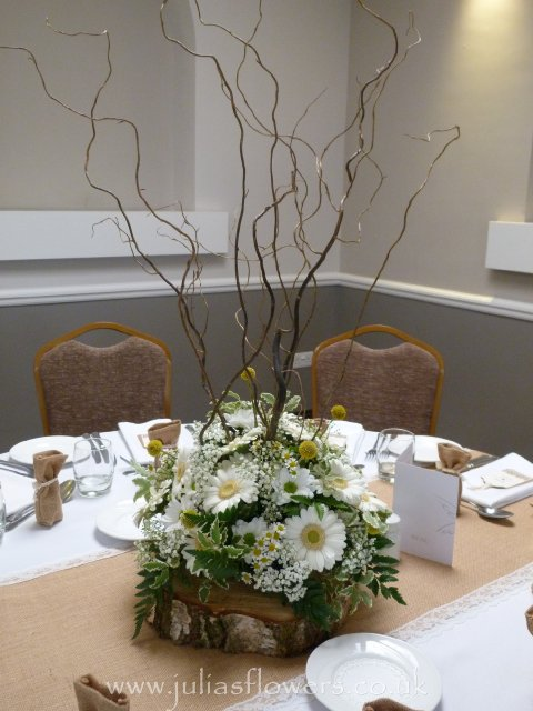 Twiggy and Daisy Table centre