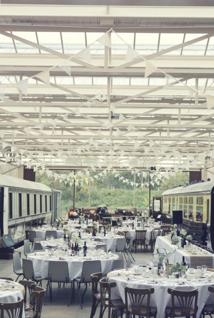 Buckinghamshire Railway Centre Wedding Reception Venues In Quainton