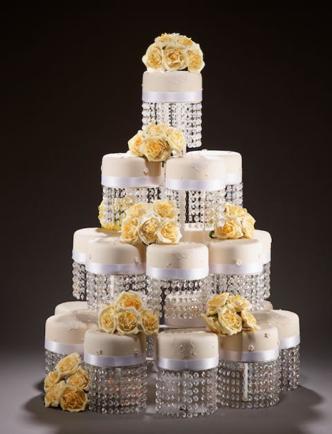 wedding cakes by sugarbliss cake company, west midlands - Sugarbliss cake company