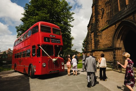 Wedding bus - Fabulous Together