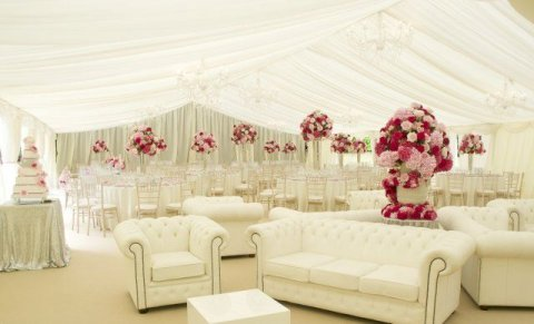 Wedding Soft Seating Area - The Event Hire Company