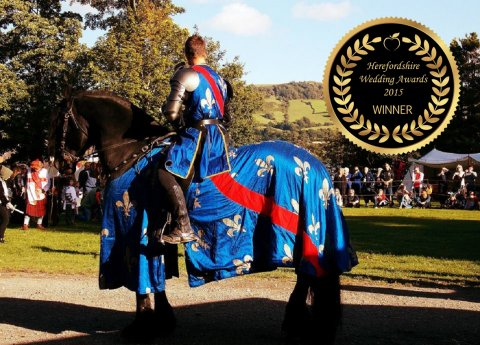 Medieval Jousting Displays for Weddings from The Cavalry of Heroes - The Cavalry of Heroes - Horses and Carriages