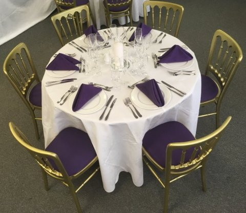 Table Setting - ABC CATERING & PARTY EQUIPMENT HIRE LTD