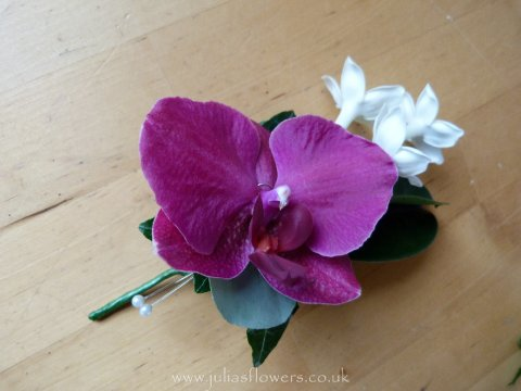 Ladies Orchid Corsage - Julia Dilworth Florals