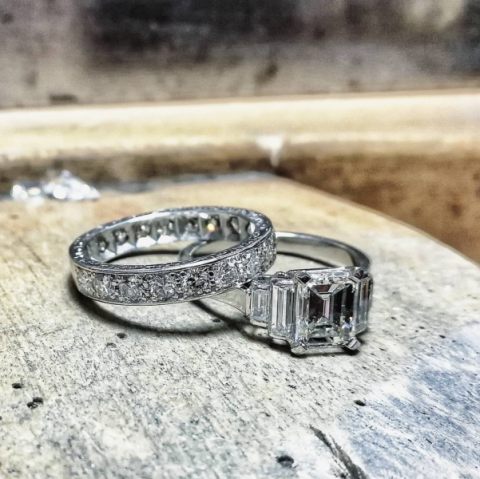 Diamon wedding rings - Blair and Sheridan Bespoke Diamond Jewellers