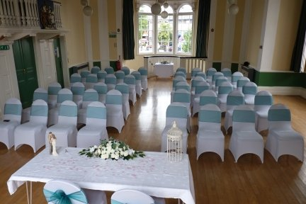 Wedding Ceremony at Lutterworth Town Hall in partnership with the Greyhound - The Greyhound Coaching Inn and Hotel