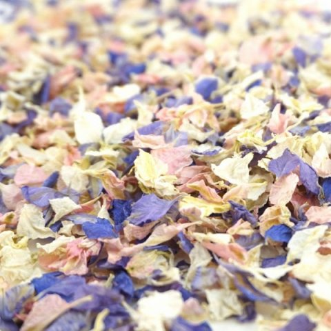 Delphinium & Wildflower Confetti - Blossom - The Dried Petal Company