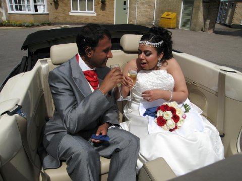 Champagne Service - Leicester Wedding Cars