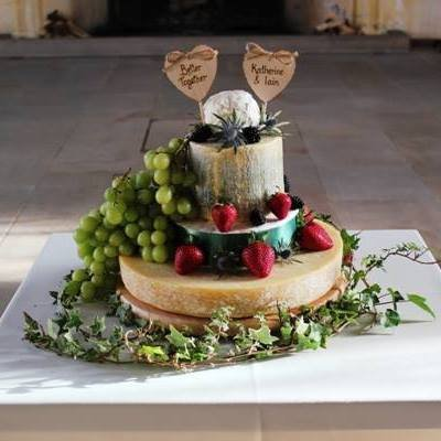 Wedding Catering and Venue Equipment Hire - Cheese Wedding Cakes - Scotland-Image 21732