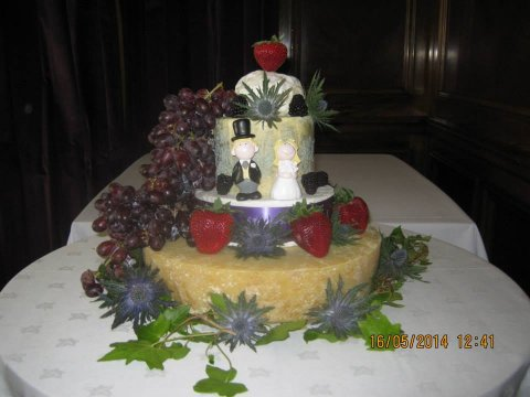 Wedding Catering and Venue Equipment Hire - Cheese Wedding Cakes - Scotland-Image 21735