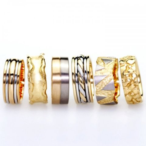 Handmade Wedding Rings - Aurum designer-jewellers