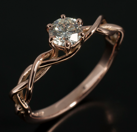 Hand-made diamond ring - Blair and Sheridan Bespoke Diamond Jewellers