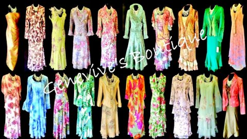 Colourful Wedding Outfits