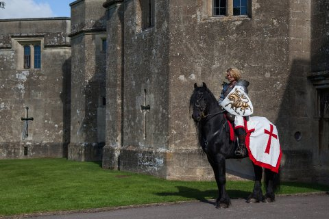 Medieval Knights on Horseback for Weddings from The Cavalry of Heroes - The Cavalry of Heroes - Horses and Carriages