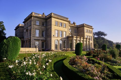 Front House and Gardens - Prestwold Hall