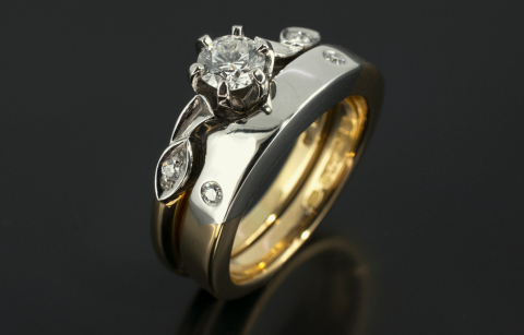 Wedding set - Blair and Sheridan Bespoke Diamond Jewellers