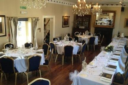 Lutterowrth Greyhound Christina Room Wedding Reception - The Greyhound Coaching Inn and Hotel
