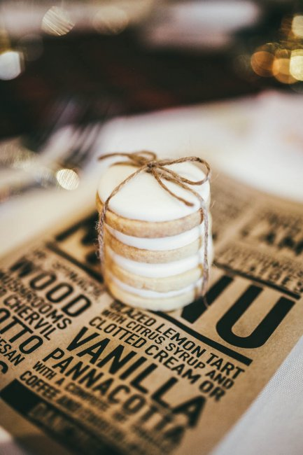 Iced shortbread cookie stack Photo: DSPhotography - The Confetti Cakery