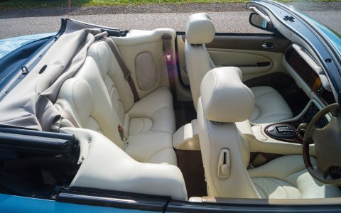 Jaguar XKR upholstery - Price Wedding Cars