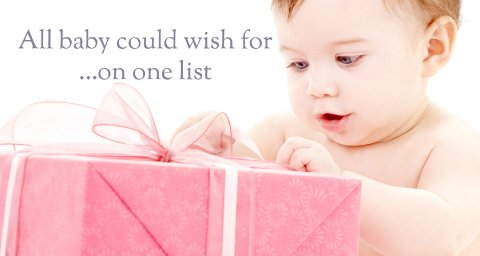 Baby Gift lists - Whatidlove.co.uk