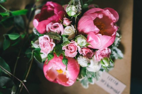 Wedding Flowers and Bouquets - West Dorset Wedding Flowers-Image 14275