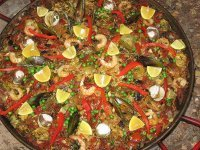 One of our lovely paellas! - Prestige Bars and Catering Ltd