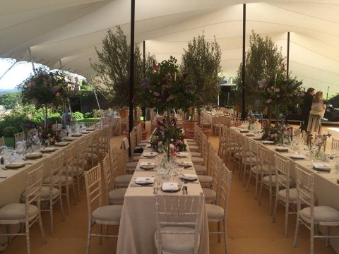Long tables and Chiavari Chairs - CGSM Events