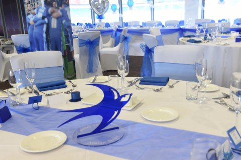 Bluebirds Wedding - Cardiff City Stadium