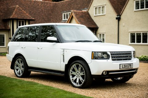 Range Rover Super Charger - Cambridge Wedding Cars